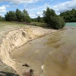 Hier word zand afgegraven