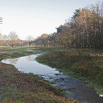 De Mortel - De Snelle Loop bij de Mortelse toren hersteld in de natuurlijke vorm van een beek om te natuur beter te bedienen 2
