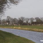 Gemert - Alle beken in Gemert komen uit in de Aa. In de verte ligt links de Koksehoeve, vanouds een herberg bij de oversteekplaats.