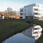 Gemert - De Rips is genoemd naar het rode roestwater stroomt hier langs de Marienburg